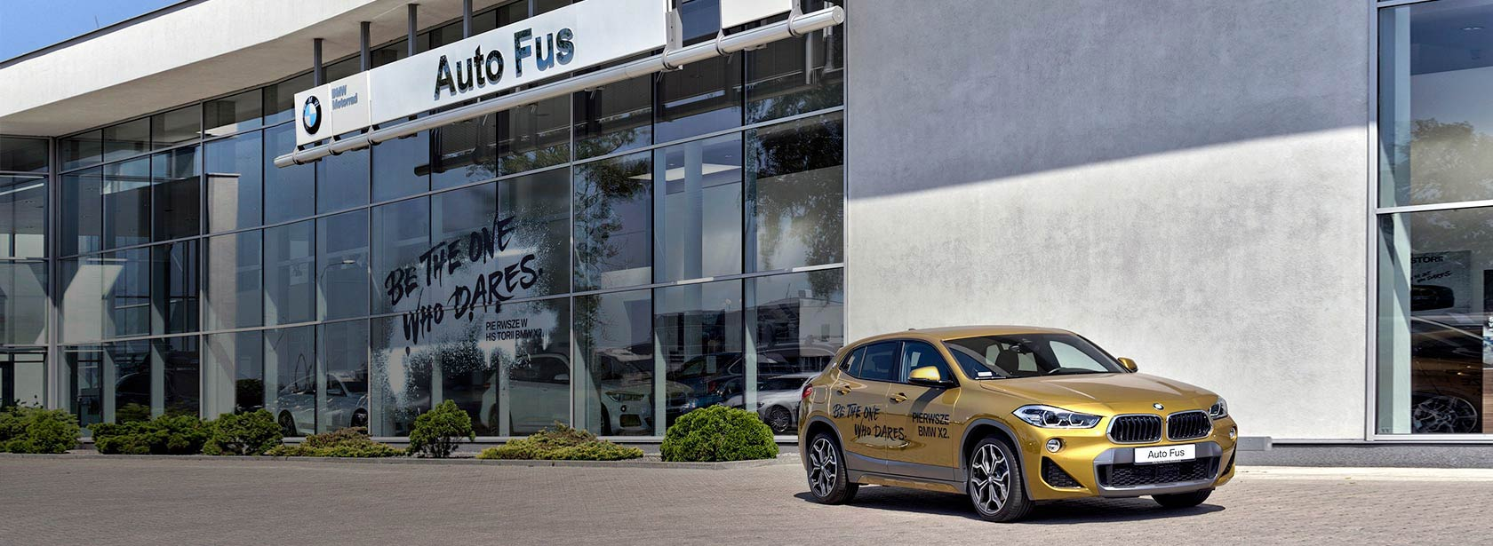 Salon Dealer BMW Auto Fus Group Białystok.